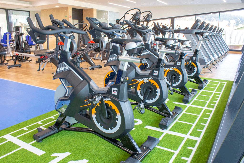 Zona para treinar cardio